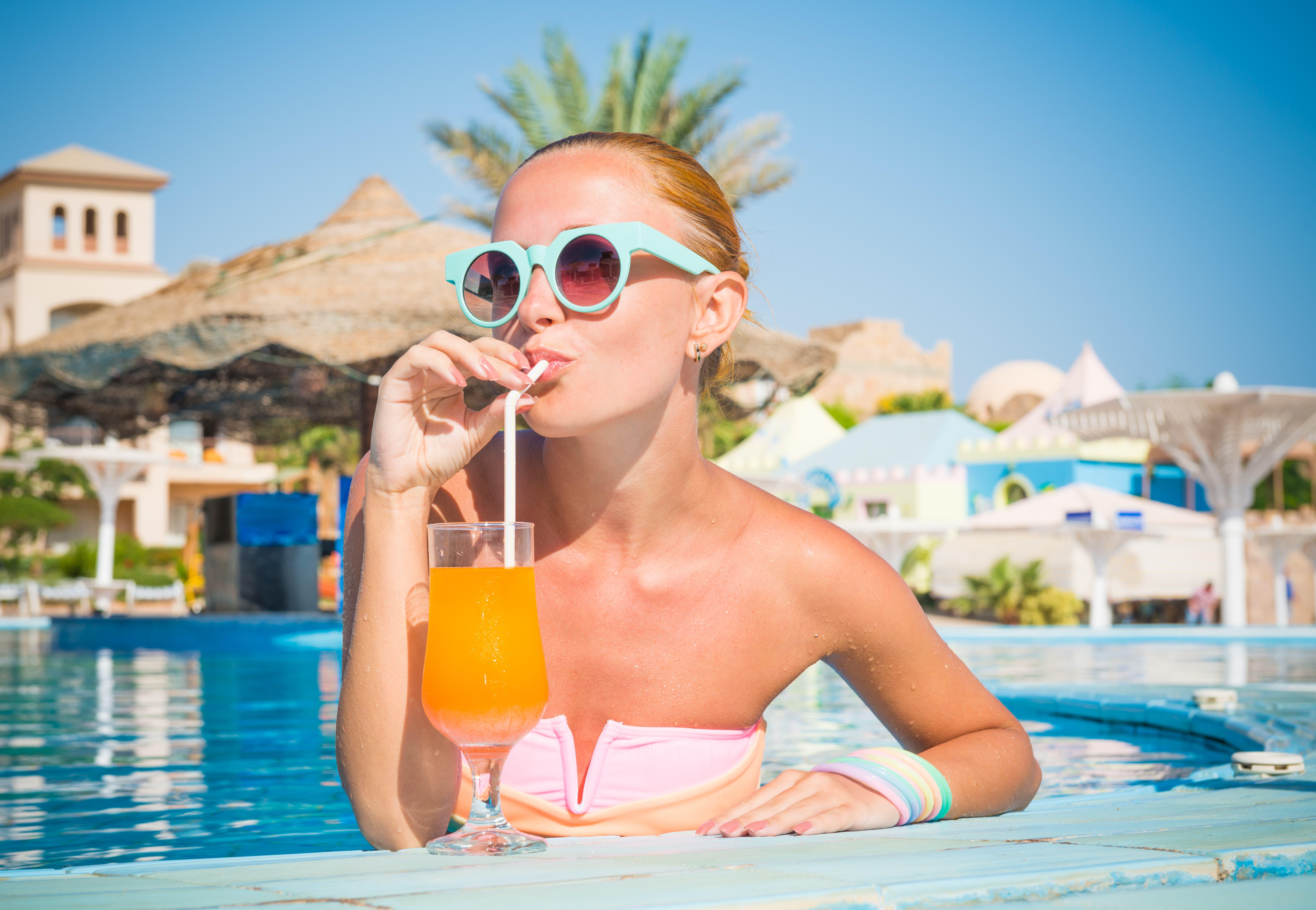 Resturante e Pool Bar em Resort