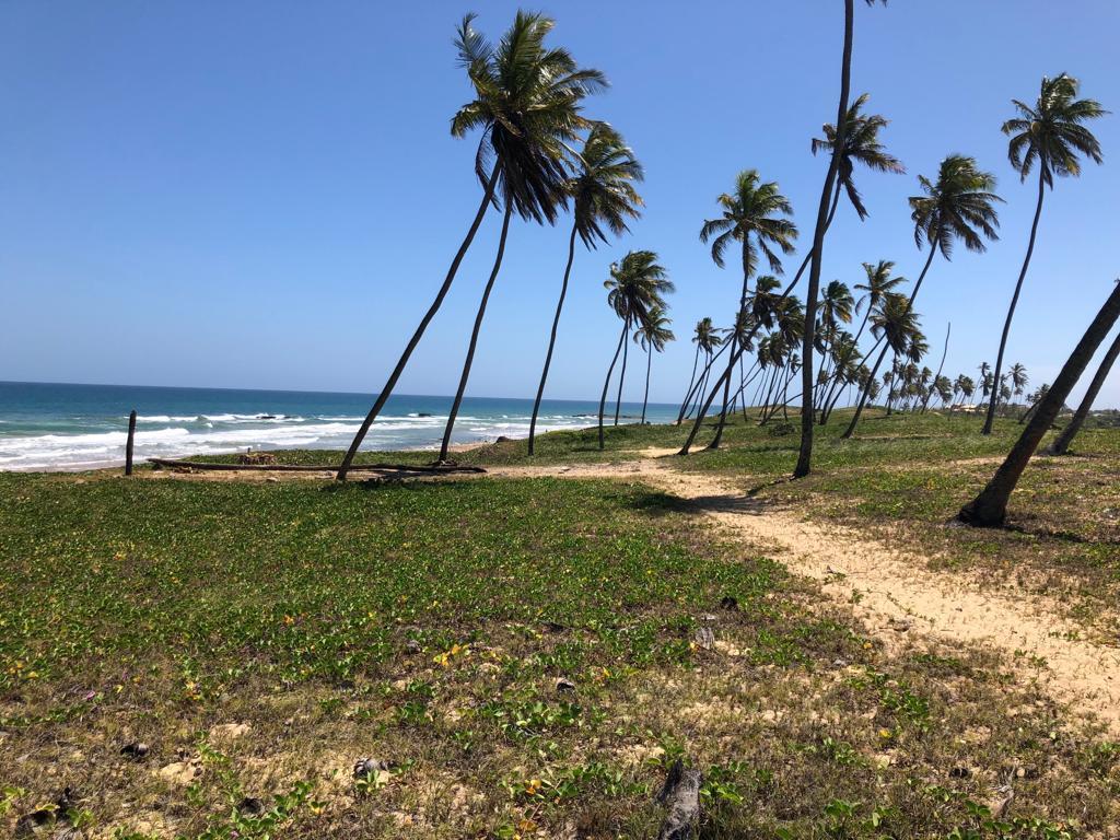 BRA – Terreno em frente ao mar  em Arembepe – BA